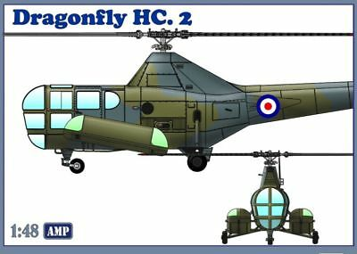 1:48 AMP #48003 - Westland WS-51 Dragonfly HC.2 - with PE parts, film, masks