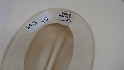 Western Express Classic Cattleman Straw Cowboy Hat with Silver Conchos 2440450ae2bd