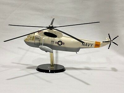 Sikorsky SH-3D Sea King Helicopter Model US Navy Topping Vietnam Vintage e59