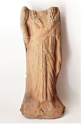 Ancient  Roman female dress figure (headless) 1-3 CE.  Egypt