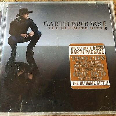 Garth Brooks Ultimate Hits LIMITED EDITION (CD and ART ONLY NO CASE)