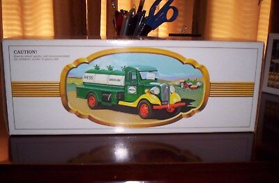 1982 Hess Truck, Nm, Rare Black Switch, Top And Bottom Inserts, Box
