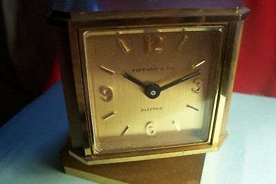 Antique TIFFANY & CO. Weather Station Clock Barometer Hygrometer Thermometer,L-C