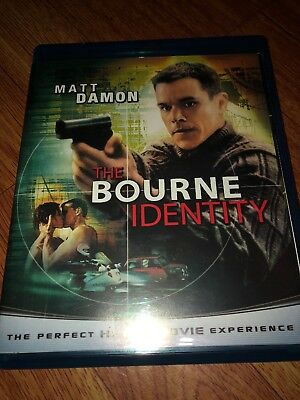 The Bourne Trilogy (Blu-ray Disc, 2010, 3-Disc Set) Repackaged
