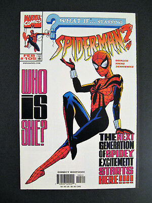 What If...Starring Spider-Man? #105 1st Mayday Parker / Spider-Girl VF/NM Comic