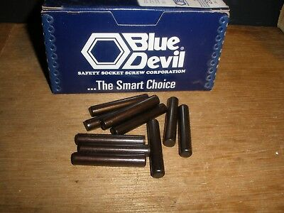 "5/16"" X 1-3/4"" Dowel Pins Blue Devil Black Oxide Ebony Finish USA Made (Qty.10)"
