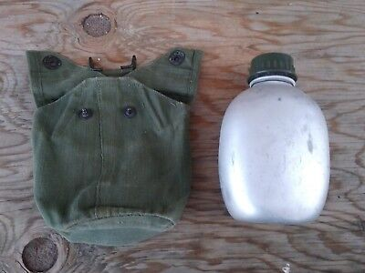 British Army WW2 Korea Vietnam p44 canteen & carrier.