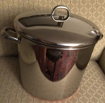 Revere Ware Copper Clad Stainless Steel 20 Qt stock pot Clinton Il. RARE SIZE
