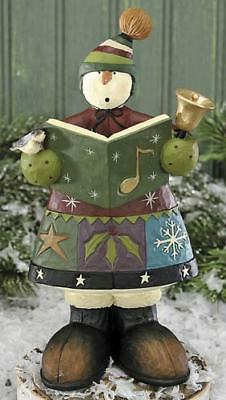 Williraye Studios Snowman Child Caroling WW2863 New In Box