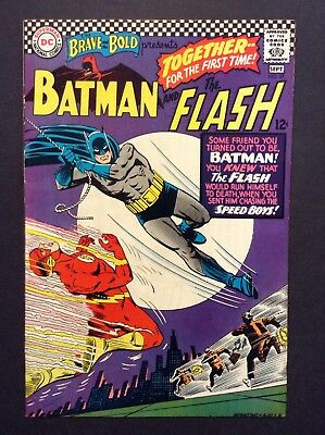 The Brave and the Bold #67 (Aug-Sep 1966, DC) CLASSIC * TEAM-UP * BATMAN & FLASH