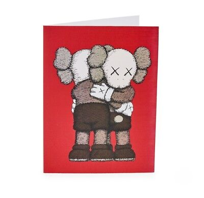 MOMA KAWS TOGETHER 2018 Christmas Cards 12 in Each Sealed Box Envelopes Included