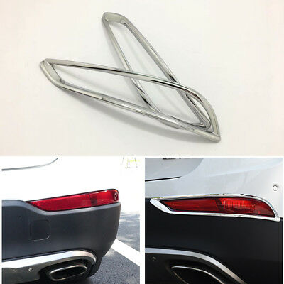 Stainless Rear Tail Light Cover Strip Trim For Buick Envision 2016-2018