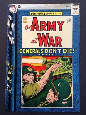 Our Army at War #147 (Oct 1964, DC) VINTAGE ICONIC SGT. ROCK COMIC BOOK COVER