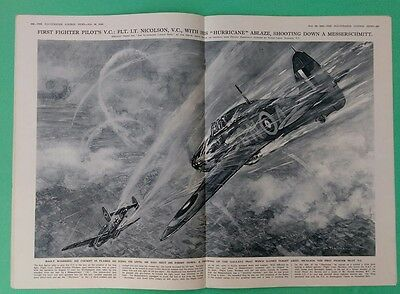 The Illustrated London News 11/30/1940 complete Gallant British Pilot/Greek Army