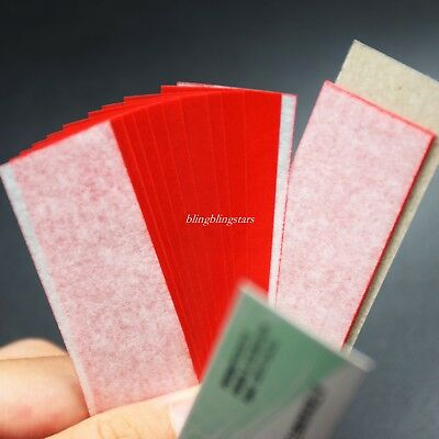 1 Box Dental Articulating Paper Practical Soft Thin Strips Red 10 Sheet *20 Book