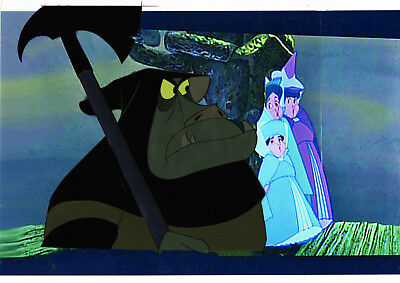 REDUCED ! Disney Prod Cel GOON from Sleeping Beauty 1959 GOLD LABEL