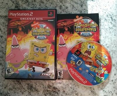 the spongebob squarepants movie playstation 2