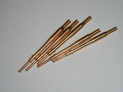 (5) Te Connectivity 0460-247-1631 Pin Contact Size 16 , 16-18Awg , Gold Plated