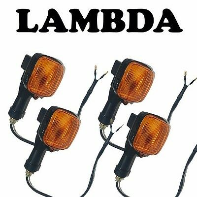 Indicator FULL Assembly x4 for '93 on CT110 Honda Postie Bikes STEM STORK CT 110
