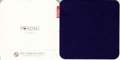 Peroni Italy - Dont Drink & Drive Square Coaster - Beer mat