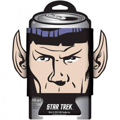 Star Trek Spock Diecut Ears Can Cooler. Delivery is Free