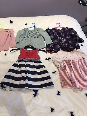 Girls Age 12-18 Months Clothing Bundle (5 Items)