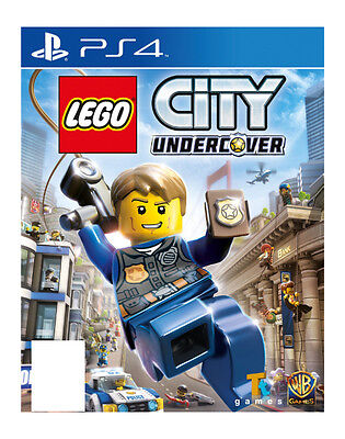 LEGO City Undercover (PS4)  BRAND NEW AND SEALED - IN STOCK NOW