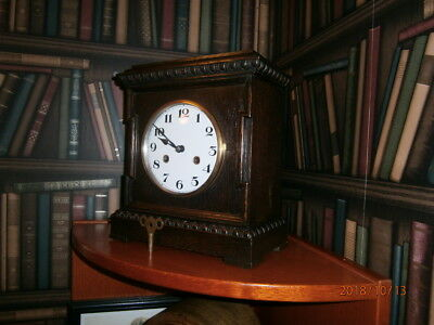 Anitque Bracket Clock by Junghans of Wurttemberg