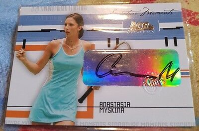 Ace Authentic Anastasia MYSKINA Autograph card Signature Moments #38/50