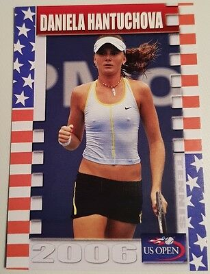 Daniela HANTUCHOVA 2006 Tennis US Open Collector Edition card #14/25