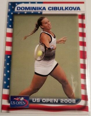 Dominika CIBULKOVA 2008 Tennis US Open Collector Edition card #03/25
