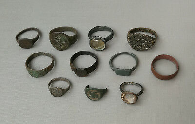 Ancient Viking broken and whole Stunning ancient rings