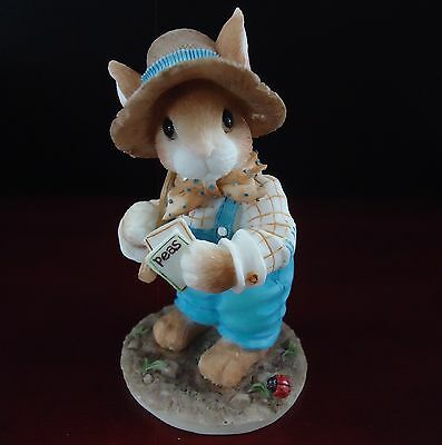 Enesco Figurine My Blushing Bunny Friendship is the Seed of Life B0/619