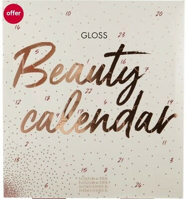 Gloss Beauty Advent Calendar Best Gift XMAS 2018 with Great Surprises