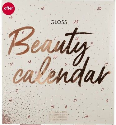 Gloss Beauty Advent Calendar Best Gift XMAS with Great Surprises