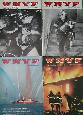 1986 Wnyf 4 New York Firefighters Fdny Magazines