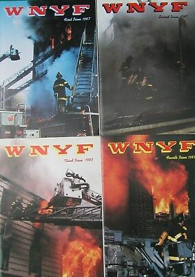1987 Wnyf 4 New York Firefighters Nyfd Magazines