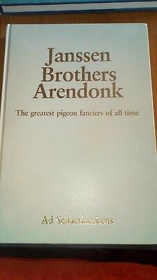 Janssen Brothers Arendonk Racing Pigeon Book