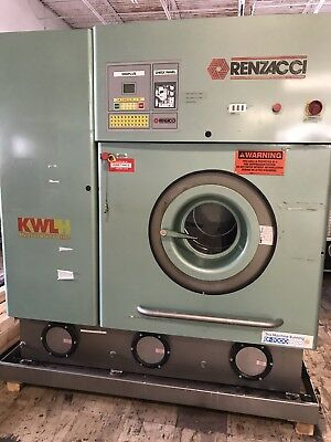 Renzacci 40 Lb Hydrocarbon Dry Cleaning Machine