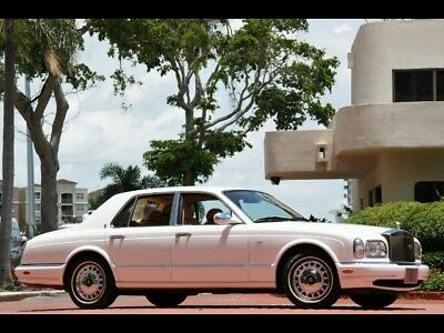 1999 Rolls-Royce Silver Seraph 26K Miles WHITE ONLY 26K MILES SERVICED CHROMED WHEELS LAMBSWOOL RECENT SERVICE   NEW WOW!