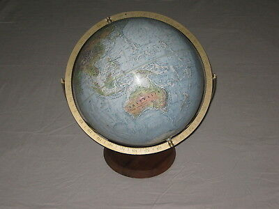 "Readers Digest 30cm Double Axis World Globe - 12"" - USA - Vintage"