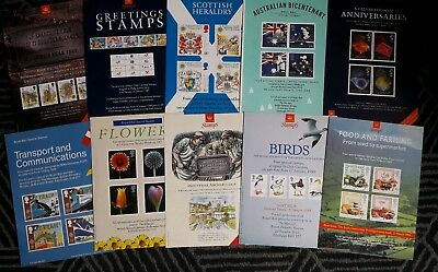 Royal Mail A4 Advertising Posters 1987 - 1989. 10 Different Posters. Good Condit