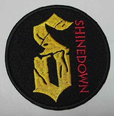 SHINEDOWN embroidred circle patch Buckcherry Alterbridge Sixx:A.M. Stone Sour