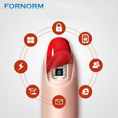 Fornorm Wearable Nail Stickers Simulate IC Card N2L/N2M/N2F NFC Smart Manicure S