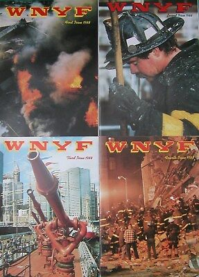 1988 Wnyf 4 New York Firefighters Nyfd Magazines