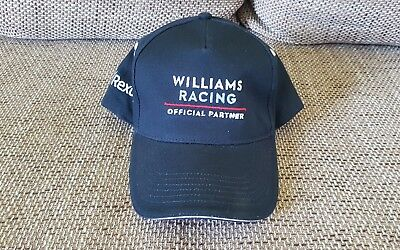 Formel 1 Williams Racing Basecap Neu Kubica Stroll Sirotkin