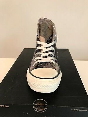 9b36f08caf62 CONVERSE MEN WOMEN Patchwork Trainers New CT All Star Hi Shoes UK 4 ...