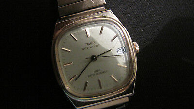 Vintage mens Timex automatic watch