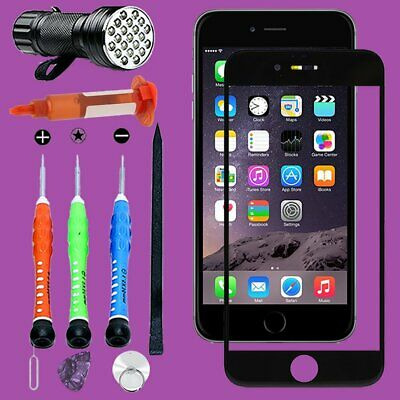 For iPhone 6 Front Touch Screen Glass Lens Replacement Repairing ToolS Kit Glue
