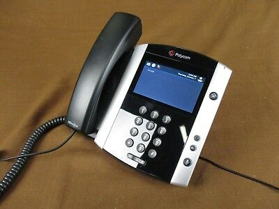 Polycom VVX 600 POE Gigabit VOIP 2201-44600-001 Touchscreen Bluetooth